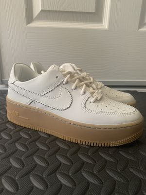 Nike Women's Air Force 1 SAGE LOW LX 'Ivory Gum' for Sale in Belmont, CA