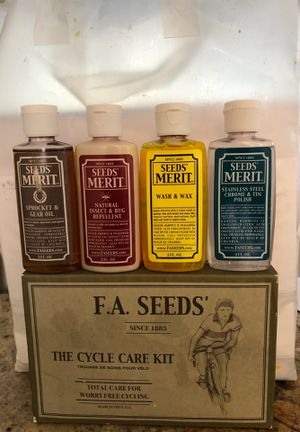 F. A. Seeds' The Cycle Care Kit for Sale in Seal Beach, CA