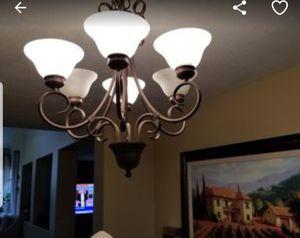 Bronze chandelier for Sale in Clovis, CA