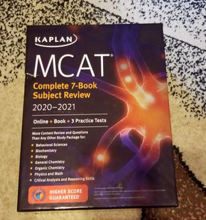 MCAT 2020-2021 KAPLAN BOOKS for Sale in Brooklyn, NY