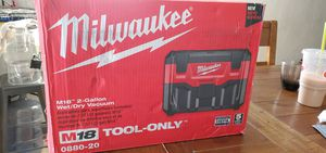 Milwaukee wet and Dry Vacuum 18V Tool only for Sale in Colton, CA