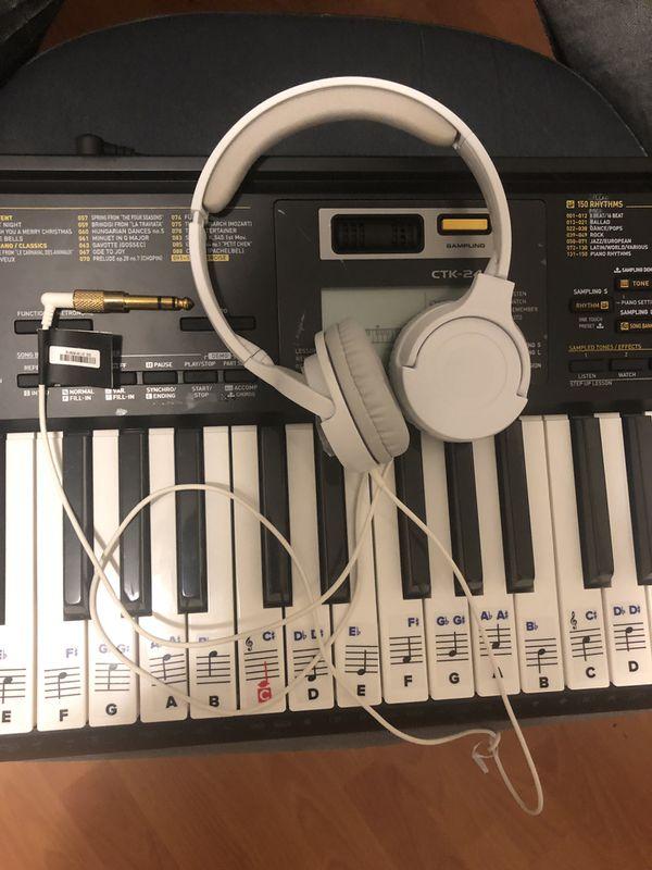 Casio CTK 2400 61 key keyboard