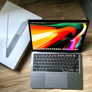 "2020 MacBook Pro w/Touch Bar TrueTone Retina Quad Core i5 13"" + Apple Warranty 2021 for Sale in Los Angeles, CA"