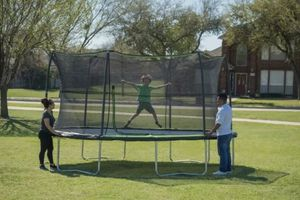 JumpKing 14' Trampoline, with Safety Enclosure for Sale in Minneapolis, MN