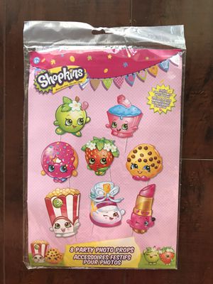 Shopkins 8 Party Photo Props for Sale in Cypress, CA