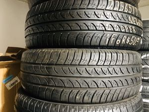 Two 225/65/17 Cooper All Season Tires w/ 70% Tread for Sale in Bromley, KY
