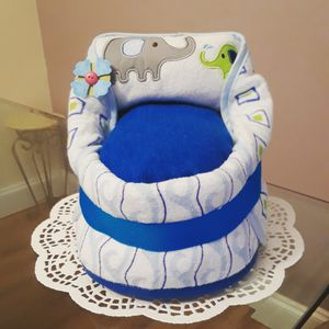Diaper cake for Sale in Fort Lauderdale, FL