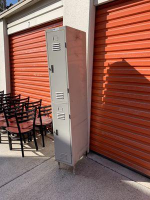 Steel Metal Lockable Employee Wall Locker Storage Cabinet for Sale in Fountain Valley, CA