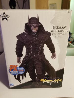 Batman Who Laughs PX 2018 SDCC / 2000 PCS. for Sale in Canal Winchester, OH