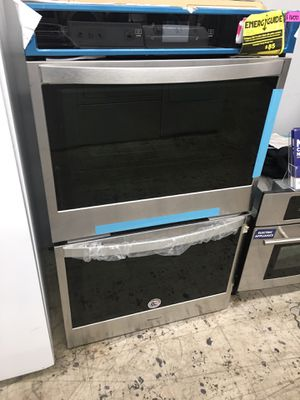 """Whirlpool stainless steel 30"""" double oven with year manufacture warranty for Sale in Anaheim, CA"""