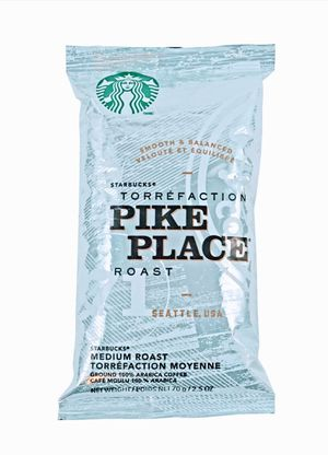 "STARBUCKS ""PIKE PLACE"" Net wt 70g/2.5oz (18ct in box) for Sale in Everett, WA"