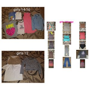 Girls clothes 10, 12, 14-16 for Sale in Stockton, CA