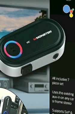 NEW! Monster 7 Piece Bluetooth Audio Receiver Kit with Voice Control  for Sale in Columbia, SC