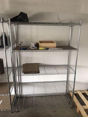 5 tier metal storage racks for Sale in Tacoma, WA