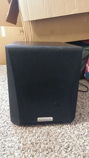Kenwood subwoofer for Sale in Columbus, OH
