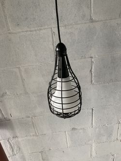 3- Industrial Kitchen Island Light Cage Frame Ceiling Pendant Lamp for Sale in Queens,  NY