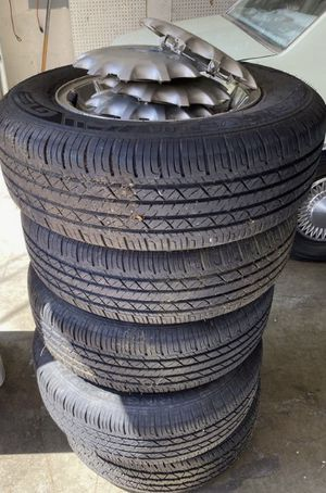 R15 tires with 75% life left for Sale in Seattle, WA