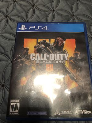 PS4 game for Sale in San Jacinto, CA