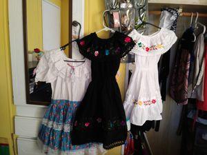 3 vestidos mexicanos for Sale in El Monte, CA