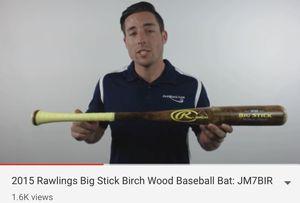 Rawlings Big stick birch baseball bat 32 for Sale in Glendora, CA