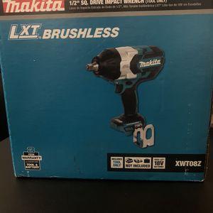Makita Lxt 18v 1/2 Inch Impact Gunnew Tool for Sale in Gardena, CA