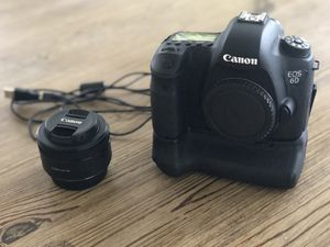 Canon 6D Camera and 50mm 1.8 Lens for Sale in Lakeland, FL