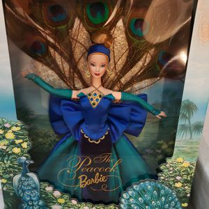 1998 Bob Mackie Peacock Barbie for Sale in Surprise, AZ