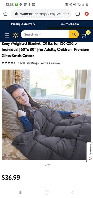 """Zeny Weighted Blanket 