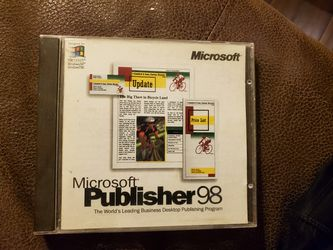Microsoft Publisher 98 for Sale in Murrieta,  CA