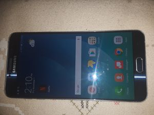Samsung Galaxy Note 5 Verizon/T-Mobile/MetroPCS/AT&T/Cricket Phone New Without Box Clear ESN Black for Sale in Glendale, AZ