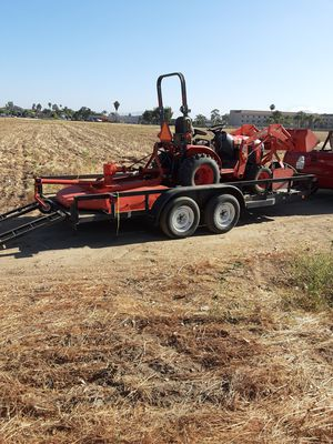 Tractor with brush mower for Sale in Perris, CA