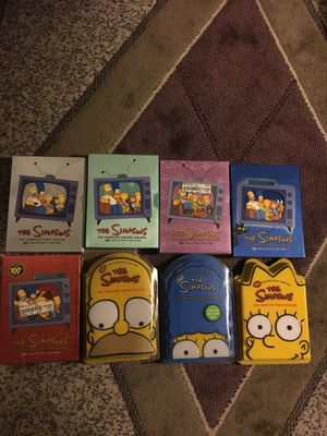 The Simpsons DVD Seasons 1-7 and 9 for Sale in Grosse Pointe Woods, MI