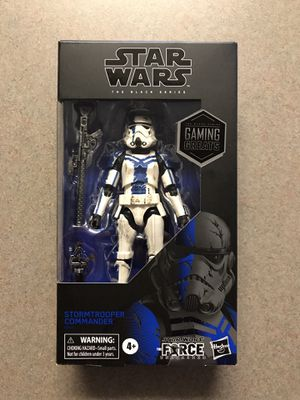 Stormtrooper Commander Black Series Star Wars GameStop Exclusive Gaming Greats *BRAND NEW SEALED* Action Figure Collectible E9497 Hasbro Disney for Sale in Addison, TX