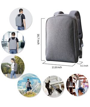 15.6 Laptop Backpack Lightweight Computer Shoulder Bag for Travel and Business Water Resistant and Multi-Functional Fits 15.6 Inches and Below for Sale in Houston, TX