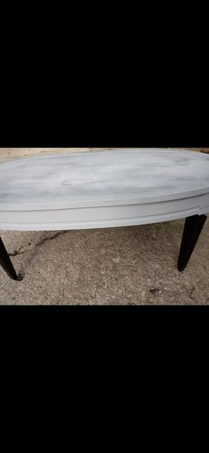 Refinished coffee table and drum table for Sale in Woodburn, IN