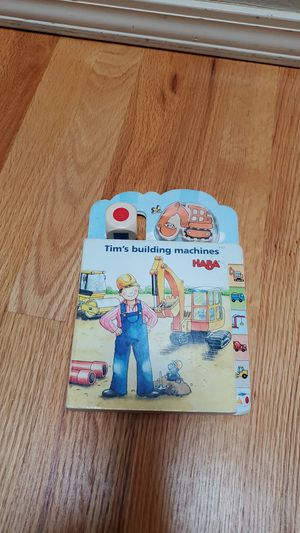 Haba construction puzzle and game board book. for Sale in Newcastle, WA