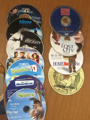 Mixed Dvds, kids, action etc for Sale in Tampa, FL
