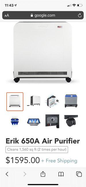 ORANSI ERIK 650A air purifier HEPA for Sale in West Covina, CA