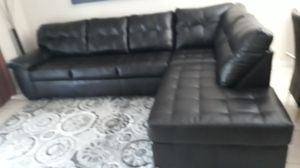 LIVING ROOM BLACK. DELIVERY FREE for Sale in Hollywood, FL