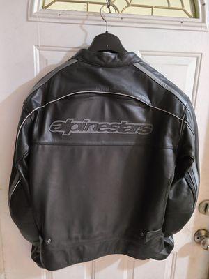 Leather riding jacket & gloves for Sale in Oakland Park, FL