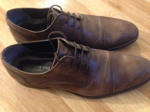 Brown leather shoes size 10 for Sale in Denver, CO