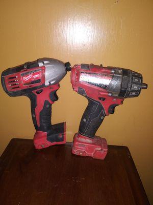 M18 Impact driver & M18fuel drill driver for Sale in Tacoma, WA