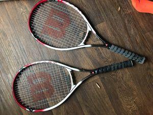 2 tennis rackets for Sale in Marietta, GA