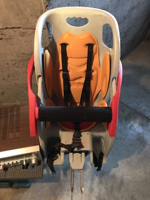 Copilot baby bike seat with rack for Sale in Portland, OR