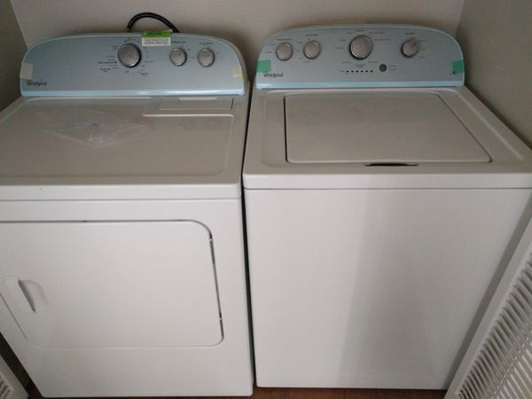 washer dryer (~2 years old)