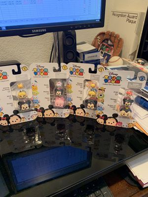Tsum Tsum Disney series 1 & 2 Lot of 4 for Sale in Peyton, CO