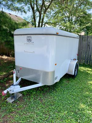 Nice enclosed trailer 5x10 steel construction for Sale in Georgetown, KY
