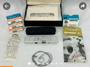 *VINTAGE* '1959' (RARE) *WETZLAR MINOX SUBMINIATURE 'C' SPY CAMERA. ALL ORIGINAL. for Sale in Garland, TX