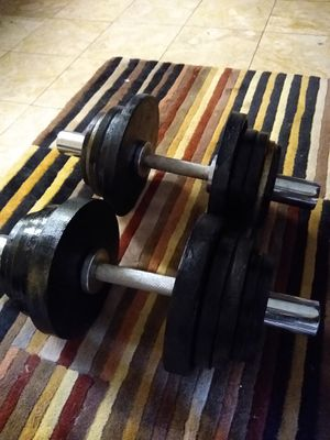Tons of weights and dumbbells for Sale in Chula Vista, CA