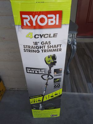 GAS WEED EATER 4 CYCLES.... RYOBI for Sale in Phoenix, AZ